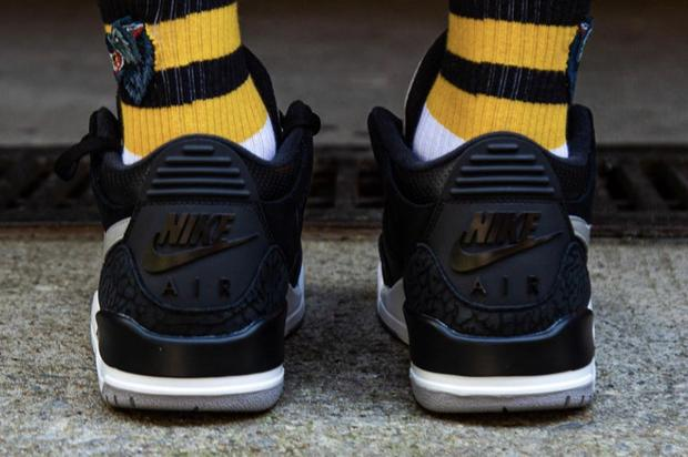 "Air Jordan 3 Tinker ""Black Cement"" Debuts This Summer: On-Foot Photos"