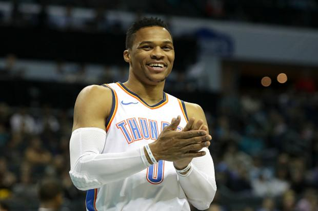 Russell Westbrook Traded During Comedy Show In OKC, Thanks Fans On Stage