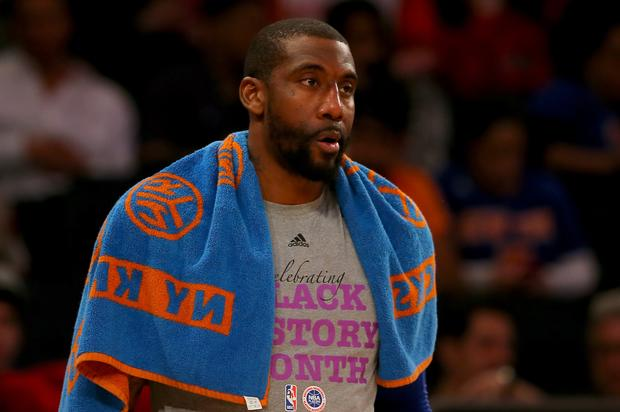 """Amar'e Stoudemire Allegedly Threatens Knicks' Podcasters: """"Meet Me In Person"""""""