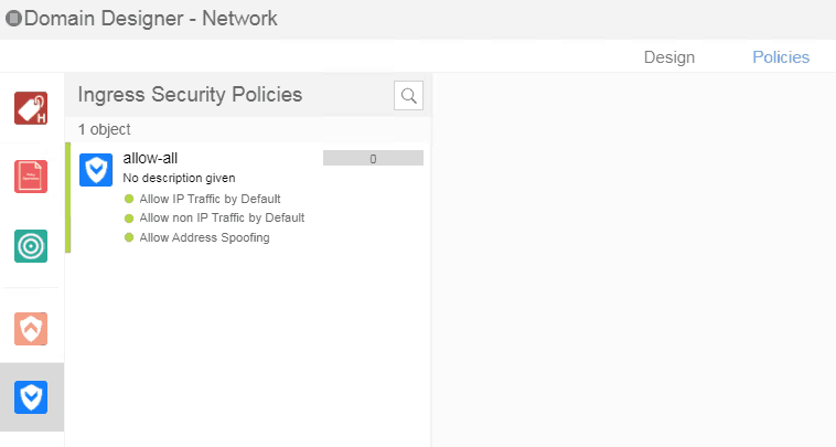 Ingress ACL policy on nuage SD-WAN