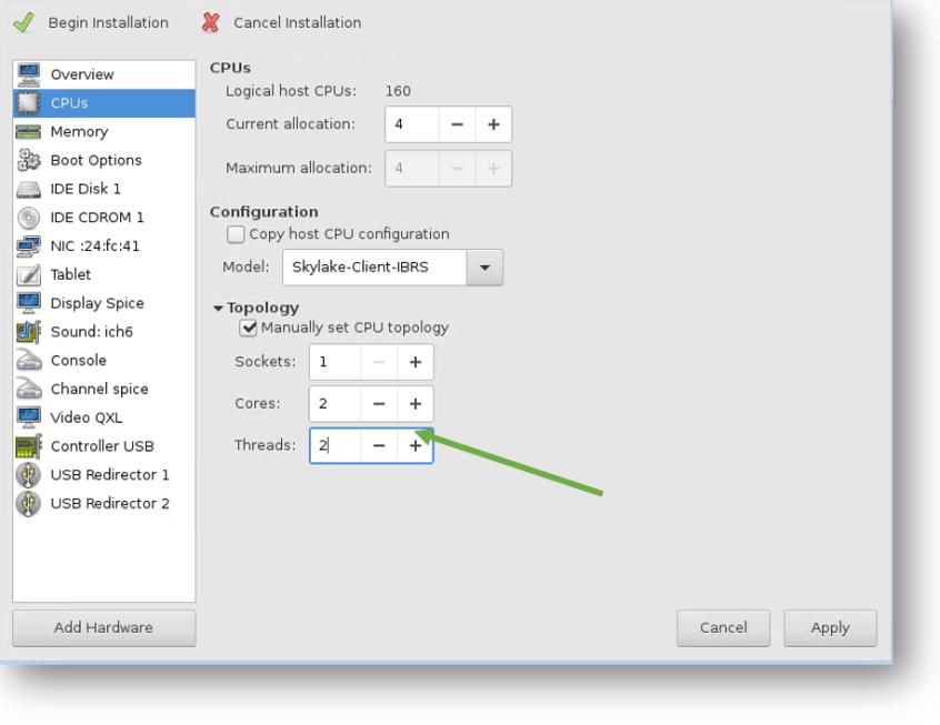 fixing windows kvm cpu issue