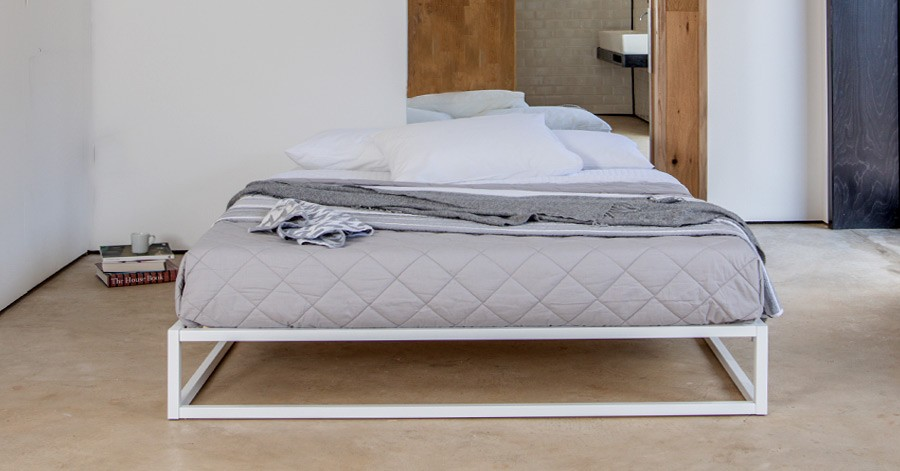 Mondrian Metal Platform Bed (No Headboard)