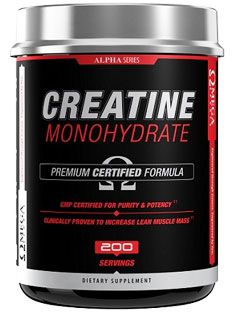 Alpha Series Creatine Monohydrate supplement by Omega Sport