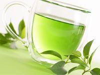 Green tea: healthy and low calorie food