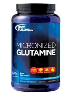 Micronized Glutamine supplement
