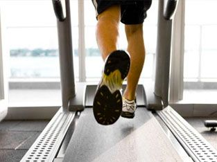 Lose weight with treadmill