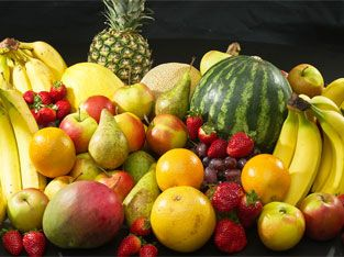 Fruits for water retention