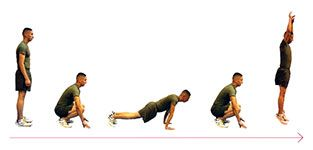 Workout 5: Burpees