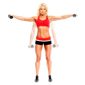 Exercise 6: Dumbbell L Lateral Rise