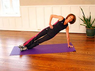 Exercise 9: Side plank