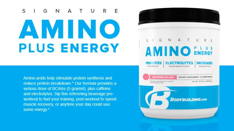 Amino plus energy