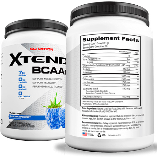 Xtend BCAA Powder by Scivation