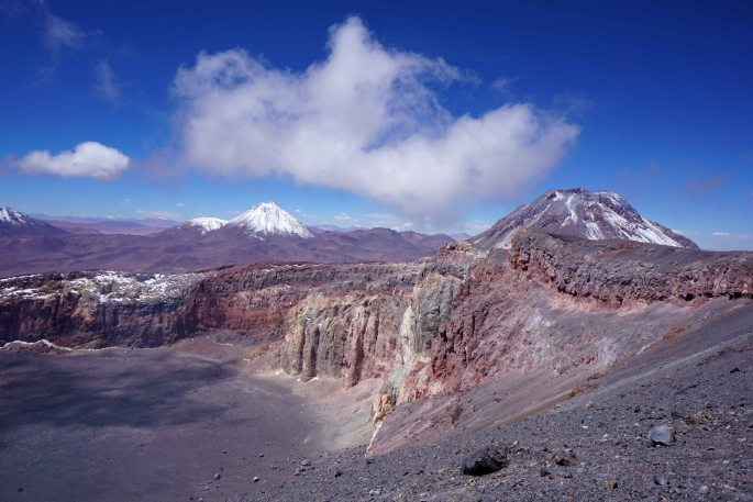 Volcan Lascar South America