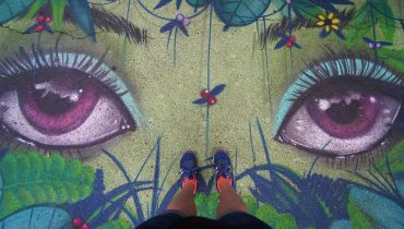 25 street art feet sm