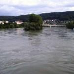 Il Reno visto da Bad Sackingen