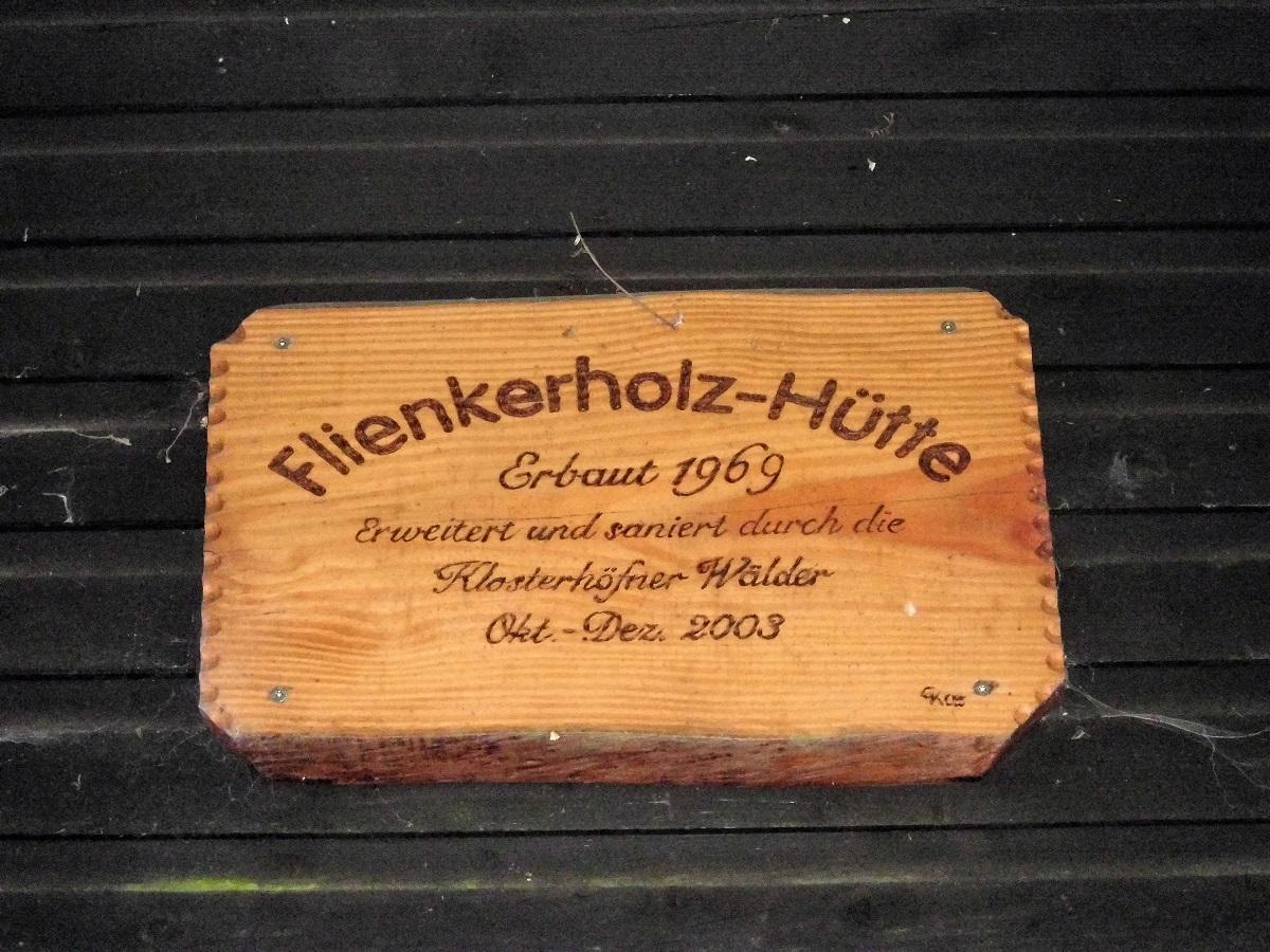 flienkerholz hutte