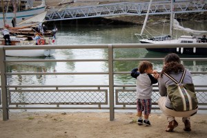 Festival Interceltico di Lorient - Siggy guarda le barche
