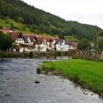 Wolfach vista dal fiume