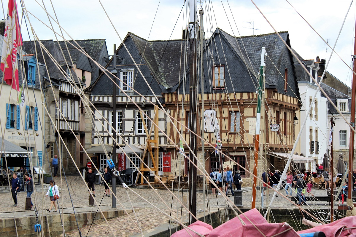 Auray quai franklyn a port saint goustan