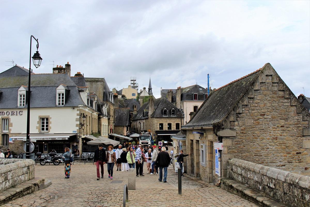 Auray port saint goustan dal pont neuf