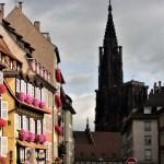 L'onnipresente cattedrale di Strasburgo