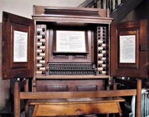 Strasburgo Organo suonato da Mozart chiesa di san tommaso