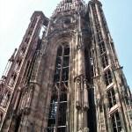 Strasburgo torre della cattedrale