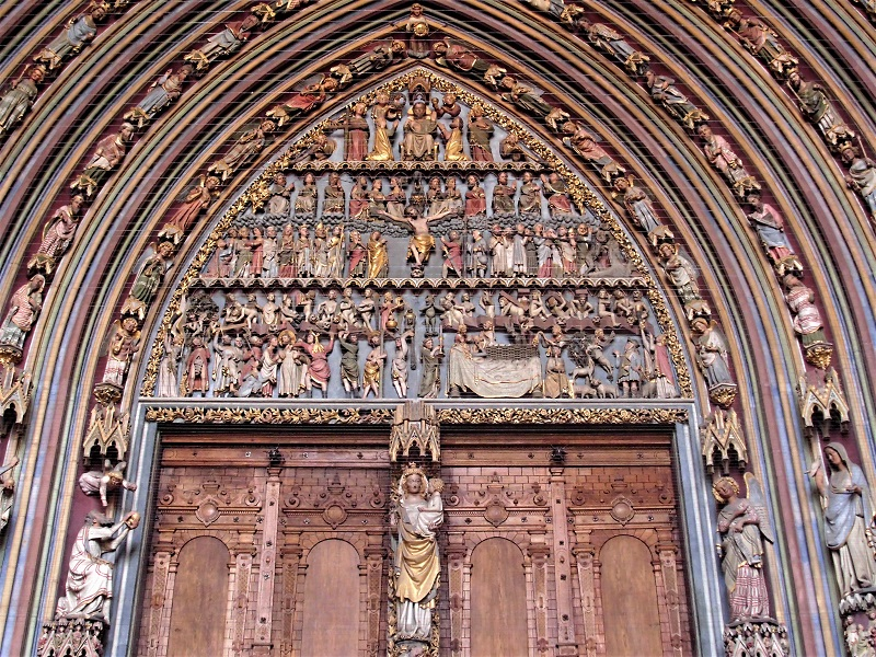 Porta cattedrale Friburgo