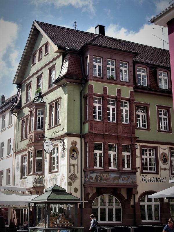 palazzo tipico di Villingen