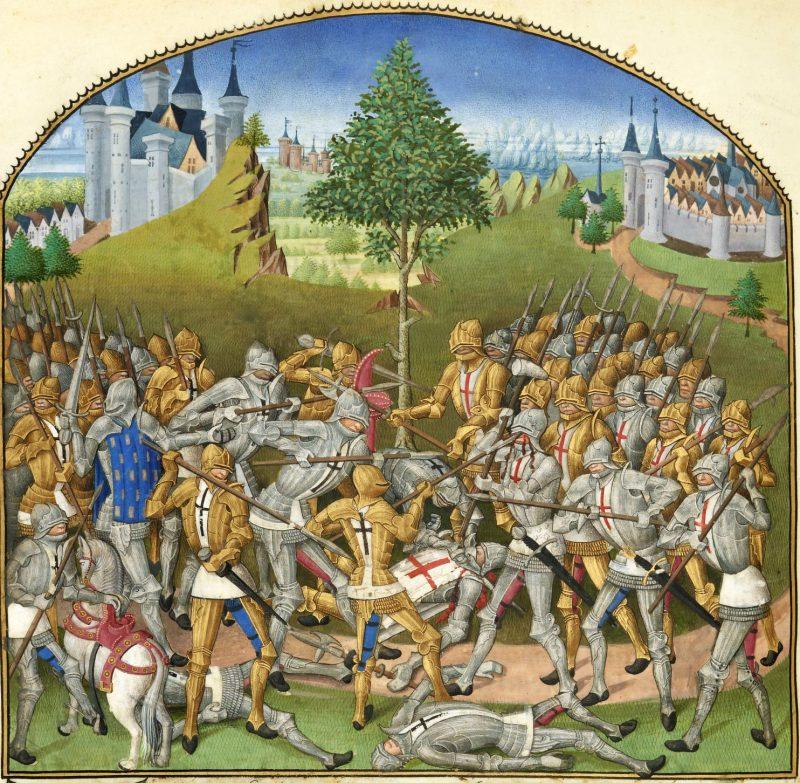 La battaglia dei trenta di Le Baud