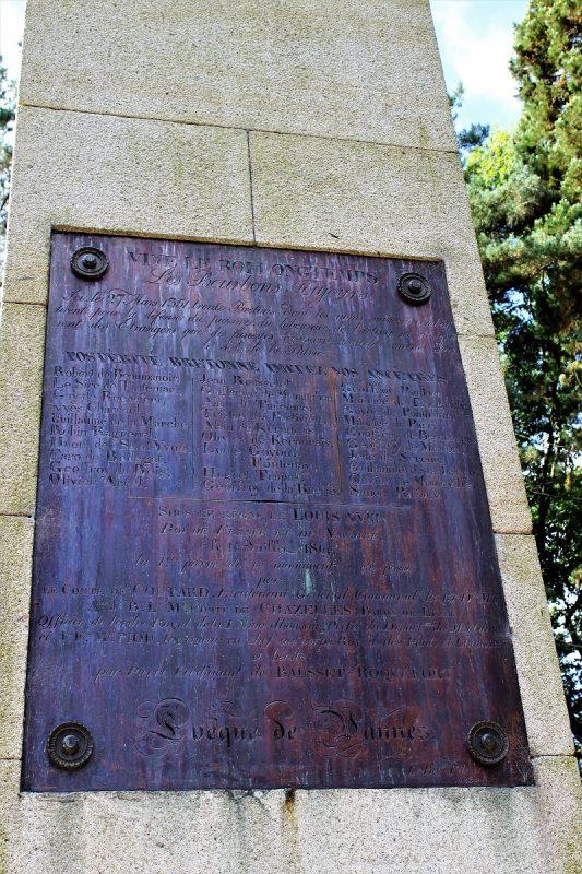 La colonna dei Trenta - La battaglia dei Trenta - Bretagna
