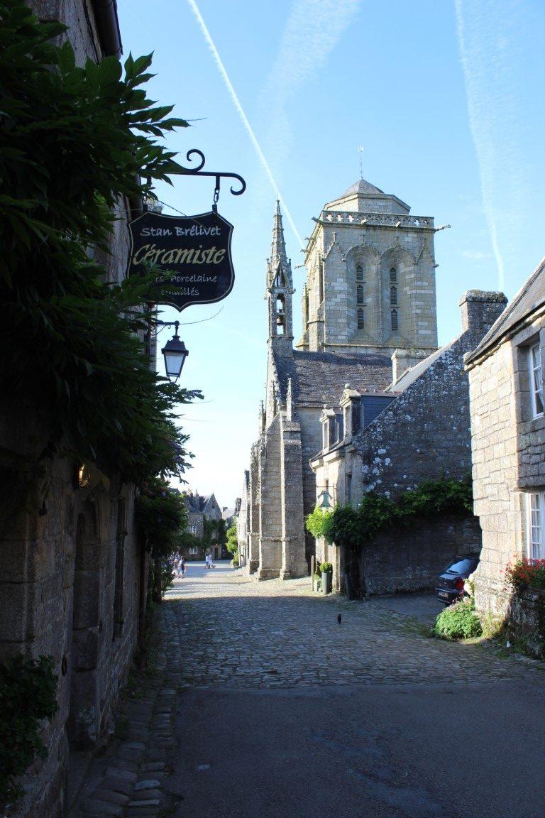 Locronan - Locronan-campanile.jpg