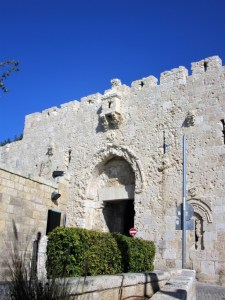 Monte-Sion - Gerusalemme-Porta-di-Sion.jpg