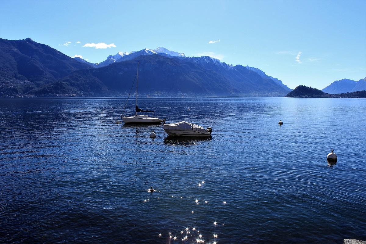 Menaggio Lago di Como visto dal borgo