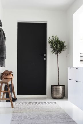 A muted, minimal entryway.