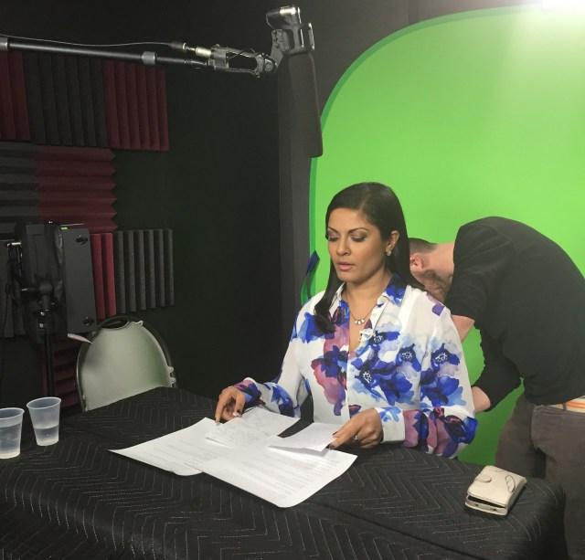 Q in the studio
