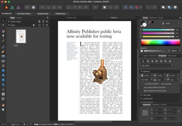 Affinity Publisher 1.9.2.1035 Crack With Product Key 2021 Free