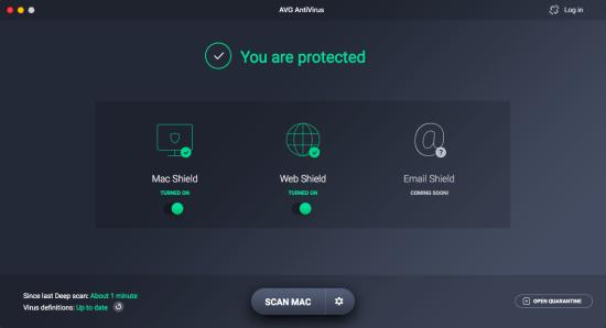 AVG AntiVirus 19.8 Crack For Mac 2021 Free Download