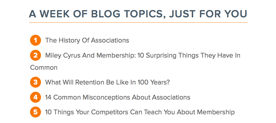 Always the Last to Know: Blog Topic Generator - Spark Consulting