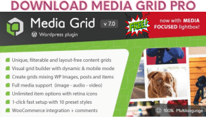 Read more about the article Media Grid Nulled WordPress Responsive Portfolio