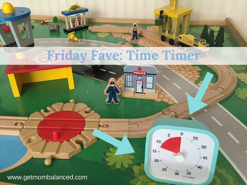 The Time Timer Counts down time and helps kids understand how much is left. Great for working moms and general family time management and communication (Aff link).