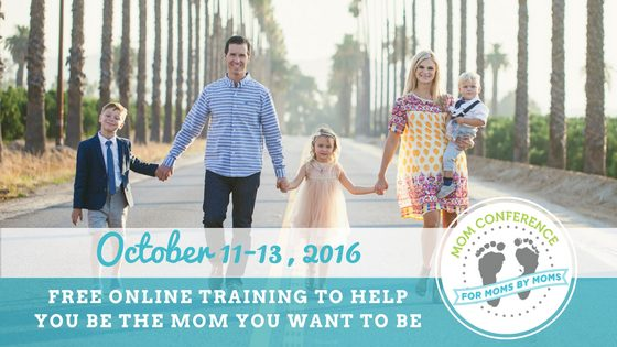 "The Mom Conference is a free, online conference to give moms ""training for the hardest and best job in the world."""
