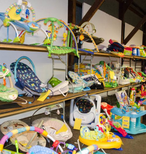Just Between Friends Consignment sales are a great way to sell baby and kid items you don't need and get great deals on baby gear you want.