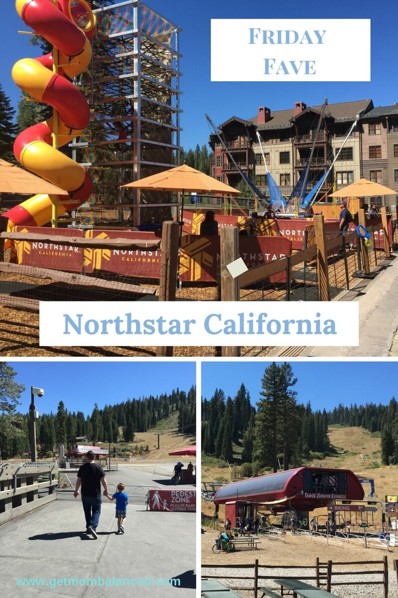 Northstar California Resort is a fantastic place to go with the family in the Summer (or the Winter!). We had such a fun visit.
