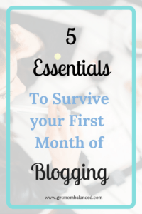 5 Essential Tips for Beginner Bloggers | Starting a blog? Here's the information you need to know | First month of blogging | Courses, resources, and groups you need to know about as a blogger