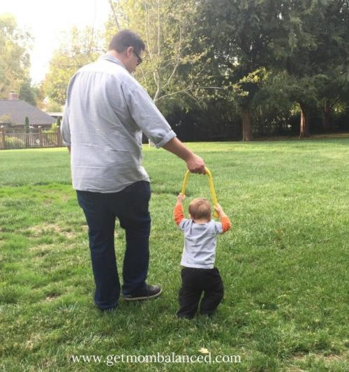 Tot2Walk is an innovative walking aid for babies learning to walk!
