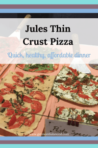 Jules Pizza is healthy, organic and made with families in mind. Eat in and have your dinner in minutes!