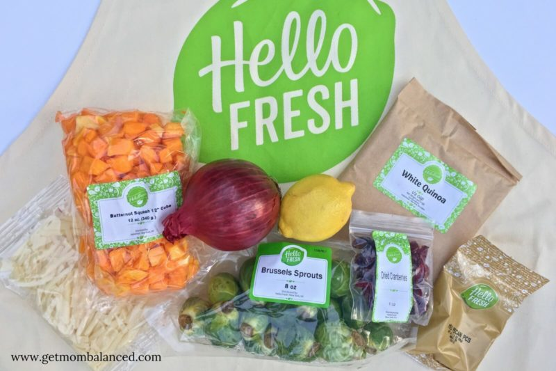 Delicious ready-to-cook meals delivered to your door with HelloFres