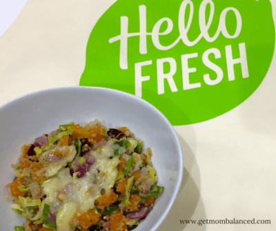 Delicious and easy dinner with HelloFresh