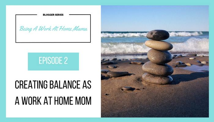 Work at home moms (WAHM) need to create balance in their daily lives.